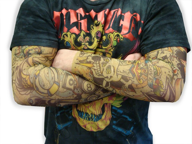 Tattoo Arm Strumpfhosen …
